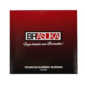 Papel Alumínio BRASUKA - 50 Folhas