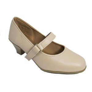 Sapato Social Salto Baixo