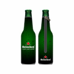 Porta Long Neck de Neoprene Heineken