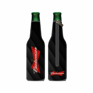 Porta Long Neck de Neoprene Budweiser