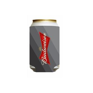 Porta Latinha Budweiser 350ml