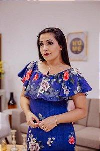 Vestido Ciganinha Floral