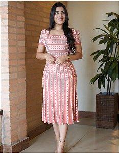 Vestido Evasê Lorena