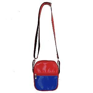 Bolsa Shoulder Bag Colors Vermelha e Azul