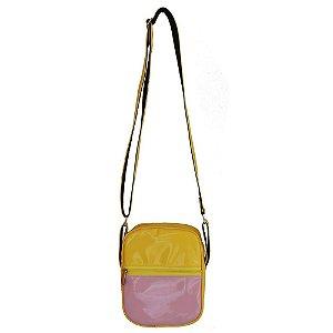 Bolsa Shoulder Bag Colors Amarela e Rosa