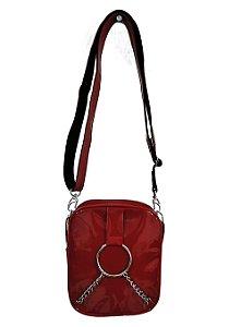 Bolsa Shoulder Bag Verniz Vermelha