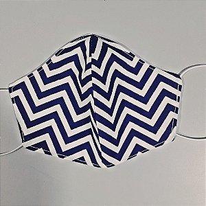 Mascara para prevenção de tecido duplo 100% algodão Listrada
