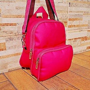Mochila Neon Rosa