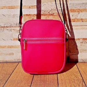Bolsa Shoulder Bag Neon Rosa