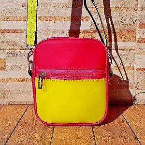 Bolsa Shoulder Neon duas cores