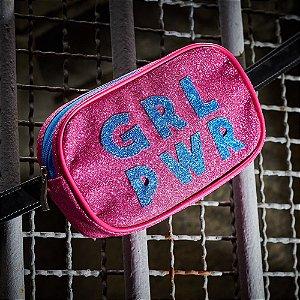 Pochete Girl Power Rosa