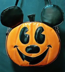 Bolsa Mickey Abóbora Halloween