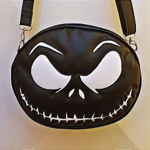 Bolsa Nara Prado Halloween Jack Skellington Preta