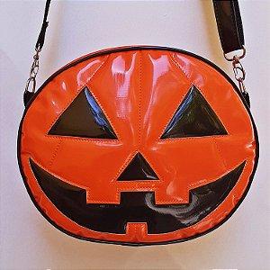 Bolsa Nara Prado Abóbora Halloween Smile