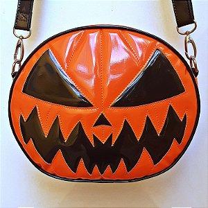 Bolsa Nara Prado Abóbora Halloween Dark Orange