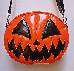 Bolsa Nara Prado Abóbora Halloween Dark Smile