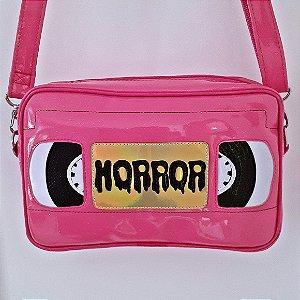 Bolsa Nara Prado Horror VHS Tape