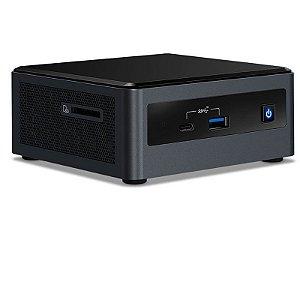 Mini PC NUC - Intel Core I3-10110U - 4GB - SSD 120GB - Rede - Wi-fi – BT - Windows 10 Pro