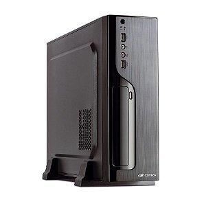 Gabinete Slim C3Tech 1 Baia SFX 200W Preto DT-100BK