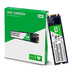 SSD WD Green 480GB M.2 2280 SATA 6 Gb/s 3D WDS480G2G0B
