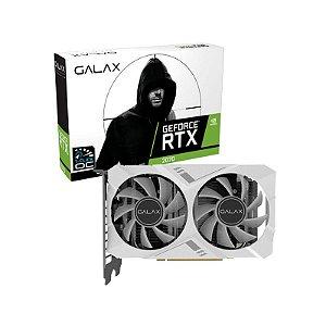 Placa de Vídeo NVIDIA GeForce Galax RTX 2070 8GB OC White Mini GDDR6 256BIT HDMI, 2x DP