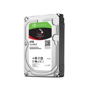 "HD Seagate Backup NAS IronWolf 8TB SATA 6GB/s 3.5"" ST8000VN0022"