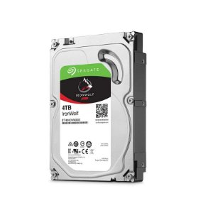 "HD Seagate Backup NAS IronWolf 4TB SATA 6GB/s 3.5"" ST4000VN008"