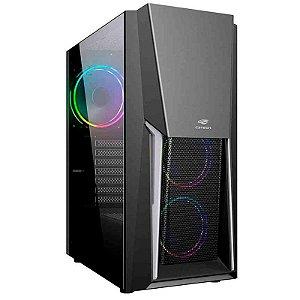 Computador Gamer Ryzen 5 2600, 8GB, SSD 240GB, HD 1TB, RX 550, Win 10 Pro