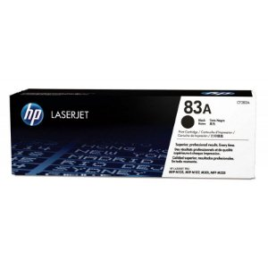 Toner HP 83A Preto Laserjet Original (CF283A)