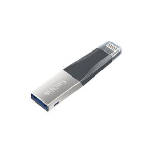 Pendrive iXpand 16GB Sandisk USB 3.0/Lightning Preto