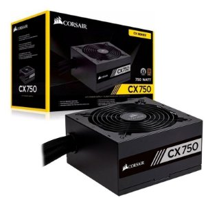 Fonte Corsair 750W Reais 80Plus Bronze CX750