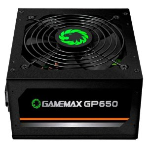 Fonte Gamemax 650W Reais 80Plus Bronze GP650