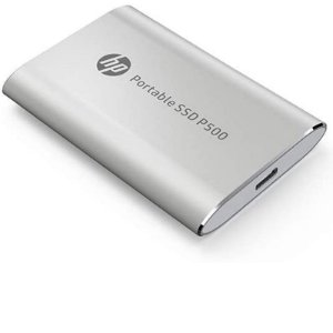 SSD Externo Portátil 120GB HP P500 USB 3.1 Tipo C Prata