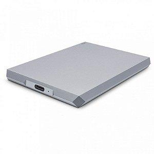 HD Externo Portátil LaCie 5TB Mobile Drive USB-C E USB 3.1 Prata