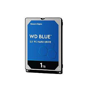 "HD Para Notebook Western Digital Blue 1TB SATA III 6GB/s 2.5"""