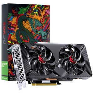 Placa de Vídeo NVIDIA GeForce PCYES RTX 2060 6GB Dual OC GDDR6 192BIT HDMI, DVI-D, DP
