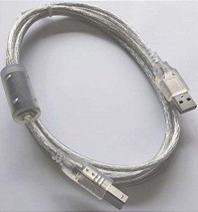 Cabo USB original Avision padrão 2.0 - 104-6012-19-SP