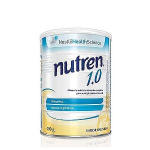 NUTREN 1,0 - 400g - BAUNILHA   NESTLE