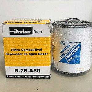 Filtro Combustível Sep. Aguá ( R-26-A50 ) RACOR