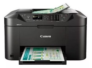 Impressora Multifuncional Canon Maxify MB2110 -Wireless Com Bulk Ink 300ML CADA COR