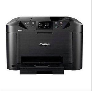 Impressora Multifuncional Jato de Tinta Color Canon Maxify MB5110 Wireless, com Bulk Ink