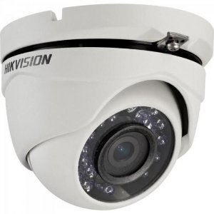 Camera Dome HD 3.0 1MP 20M 2.8mm Branca DS-2CE56C0T-IRM  HIKVISION