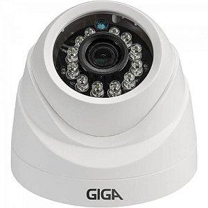 Camera Dome 3,6mm Infra 20m 1080P Open FULL HD (4 em 1) Sony Exmor GS0026 Branco GIGA