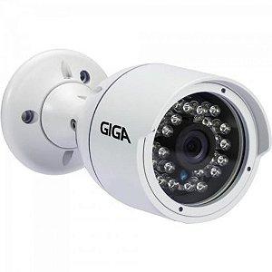 Camera Bullet 4mm Infra 30m 4MP - 2K Open ULTRA HD (4 em 1) GS0042 Branco GIGA