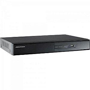 DVR 4 Canais DS-7204HGHI-F1 Preto HIKVISION
