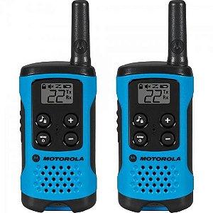 Rádio Comunicador Talkabout 25km T100BR Azul MOTOROLA - PAR / 2