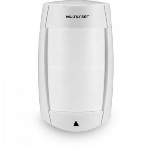 Sensor IR Infra Passivo Pet 40 kg Duplo Fio SE 411 BRANCO MULTILASER