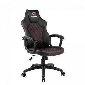 Cadeira Gamer Holt Preta/Vermelha FORTREK