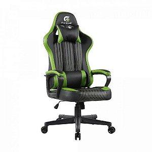 Cadeira Gamer Vickers Preta/Verde FORTREK