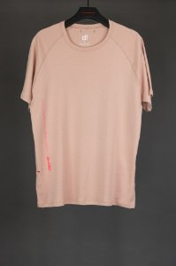 camiseta over raglan rosa